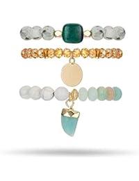 dd5ae7698cba Amazon.es: pulseras piedras naturales - Última semana: Joyería