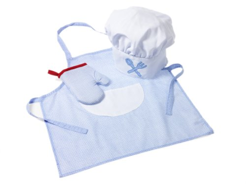 Preisvergleich Produktbild Kinder Koch-Ausstattung - blau