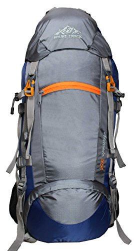 MOUNT TRACK 55 Ltr Navy Blue & Grey Rucksack