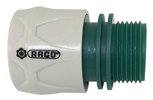 RACO Expert 20048 Raccord Rapide Mâle 3/4 '' ABS Vrac, Multicolore, 3,5x3,5x5,5 cm
