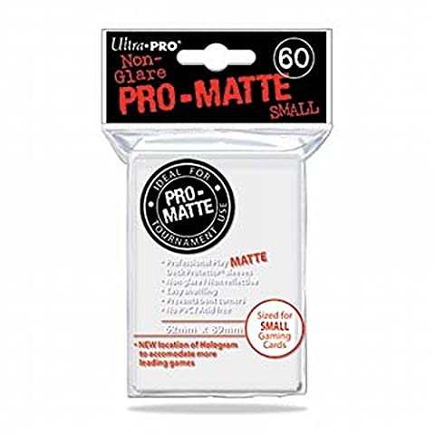 Ultra Pro 84022 - Small Sleeves - Matte - 60, weiß