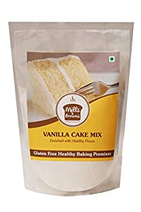 Mills & Browns Classic Vanilla Cake Mix | Gluten, Maida Free Cake Mix | 1kg Vanilla Cake Mix |Pack of 2