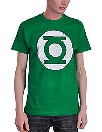 Camiseta de Linterna Verde con logotipo de DC Comics color verde - S