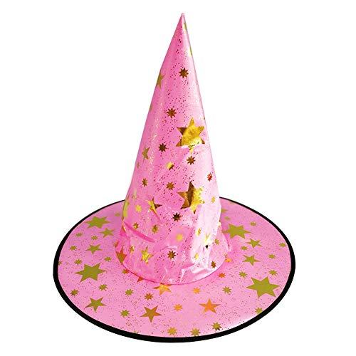 omufipw 1 piezas de Halloween bruja Hat Magic Hat Party juguetes cosplay  para adultos y niños 575322cecaf