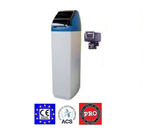 Pentair Fleck - Descalcificador de agua, volumétrico electrónico (22l)
