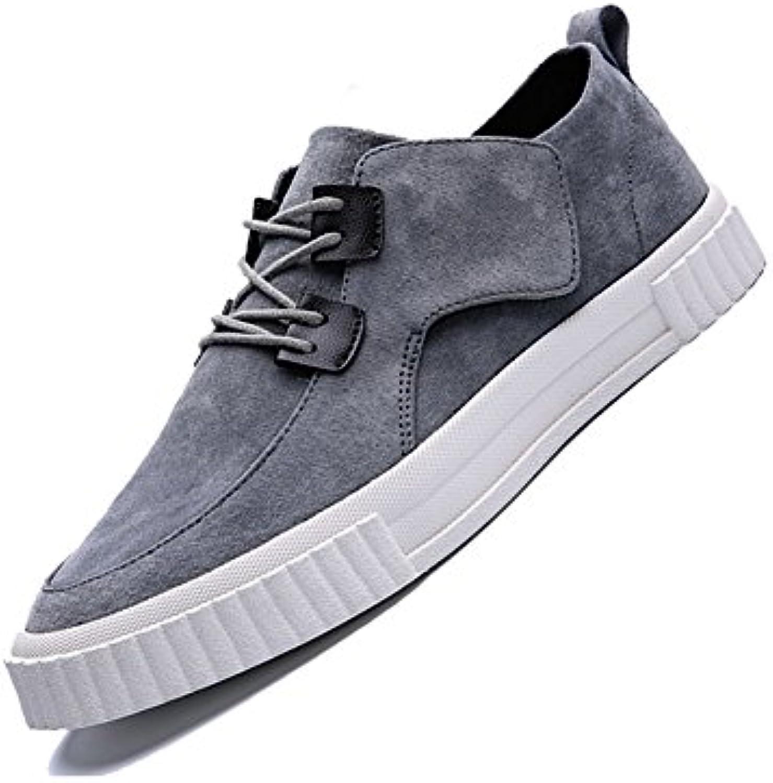 YIXINY Deporte Zapato DP06 Zapatos Casuales Hombre Inglaterra Estudiante Transpirable Zapatos Con Cordones Zapatos