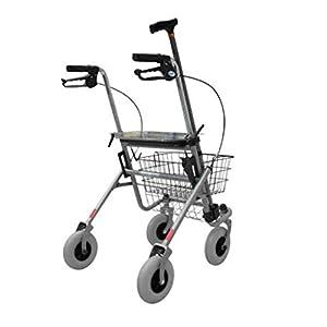 Days Rollator mit 4Rädern mit Sitz und Tablett