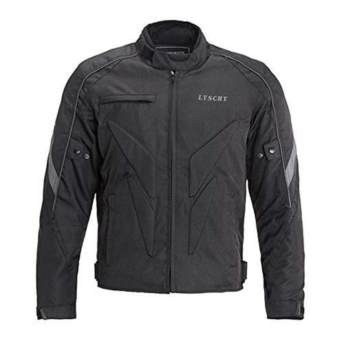 LYSCHY Motorradjacke Wasserdicht Winddicht Air Flow Motorrad Jacke Reflektierend Thermofutter Abnehmbar,Jacket-XL Air Flow Textile Jacket