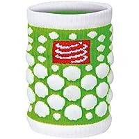 Compressport 3d Dots - Muñequera de fitness para hombre, color verde, talla UK: Talla 5 to 6