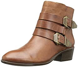 Aerosoles Womens My Time Boot, Dark Tan Leather, 5 M US