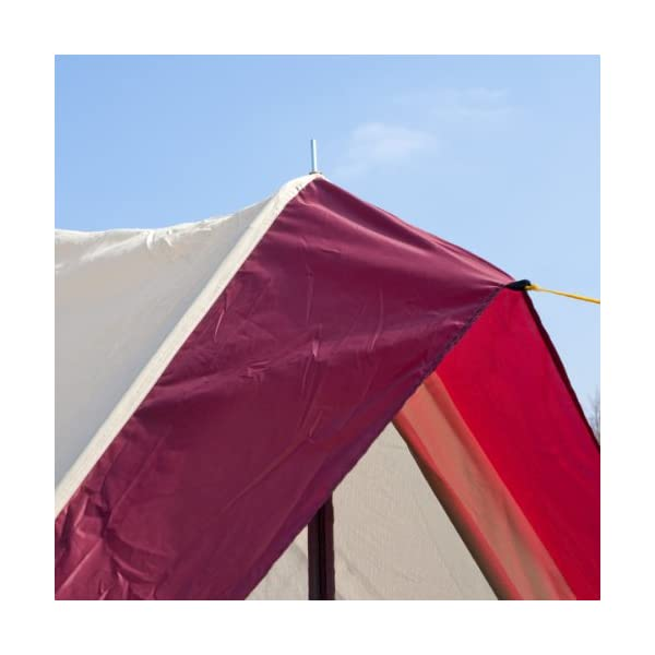 Skandika Waterproof Comanche Unisex Outdoor Frame Tent available in Red - 8 Persons 8