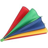 Sanzhileg Beweglicher Fischen-kampierender Strand Regenschirm-Hut-Mehrfarbenkappe Sun-Regen-Regenschirm nagelneuer heißer
