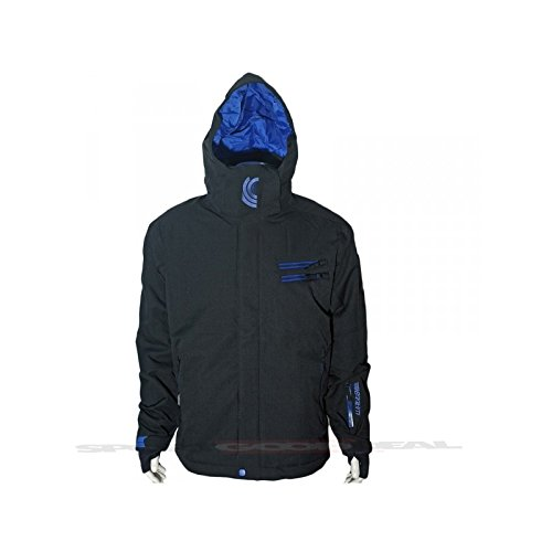 Watts Jacke Skifahren junge Kong schwarz/blau - 10 Jahre