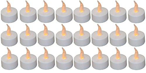 BUSDUGA 899804 LED Teelichter 24 Stück inklusive Batterien