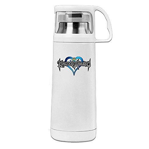 Thermos 12Unze Edelstahl Commuter Flasche, Kingdom Hearts Kaffee/Wasser Flasche, Reisen Tasse mit Thermoeffekt Drink Cup