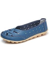 Mujer Zapatos Planos Mocasines Bailarina Flats Zapatos Casuales Mujer
