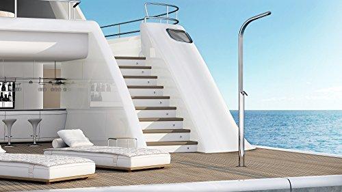 Douche extérieure en acier inoxydable Dream Yacht M