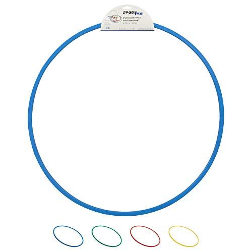 Gymnastikreifen aus Kunststoff, Hula Hoop, Trainingsreifen, Turnreifen, 70 cm