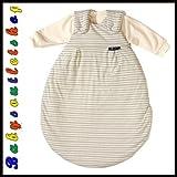 Alvi 423801056 Baby Mäxchen, 3 - teilig, Streifen beige