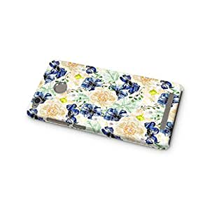 Cover Affair Floral / Flowers Printed Designer Slim Light Weight Back Cover Case for Xiaomi Redmi 3s Prime