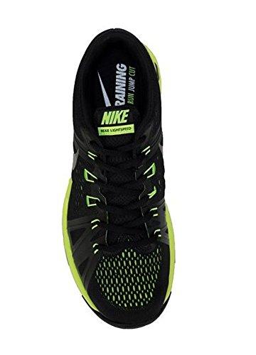 Nike Reax Lightspeed, Scarpe da Escursionismo Uomo Black (Nero / Nero-Volt)