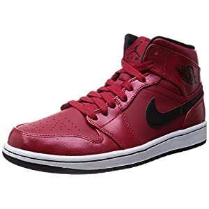 41IaU3IZ6gL. SS300  - Nike Men's Air Jordan 1 Mid Basketball Shoes