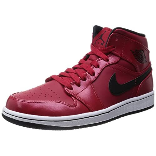 41IaU3IZ6gL. SS500  - Nike Men's Air Jordan 1 Mid Basketball Shoes