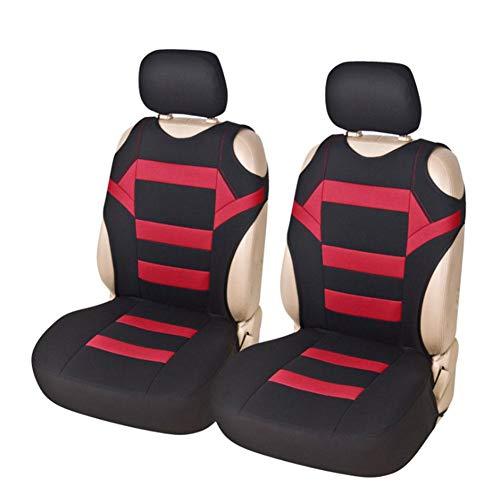Rubyu Set di 2 coprisedili universali per Auto, sedili Anteriori, coprisedili con Spugna in Mesh, Accessori Interni, coprisedili per Auto/Camion/furgo