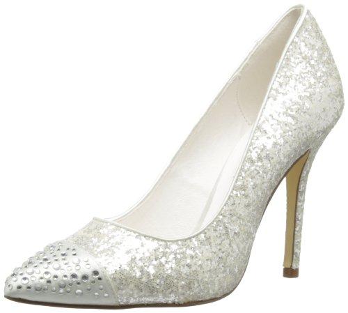 Menbur Wedding Esperanza, Chaussures À Talons Couleur Os Pour Femme (elfenbein (ivory 04))