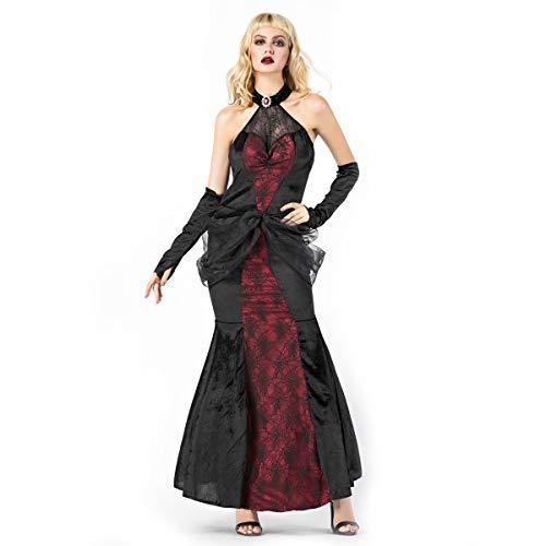 Twin Kostüm Gruselig - Simmia Halloween Kostüm,2018 Halloween Vampire Diaries Kostüm Bühnenshow, 8851, U