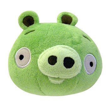Angry Birds - Green Pig Plush - 15cm 6""