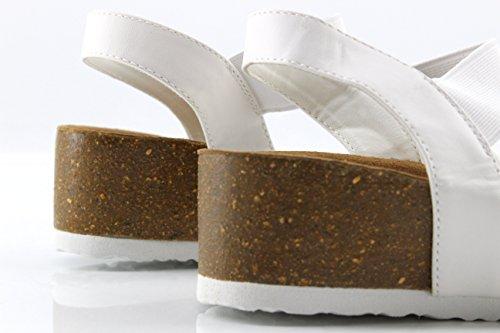 Per Le Donne Flops Bianco Flip Modelisa zq8Fn