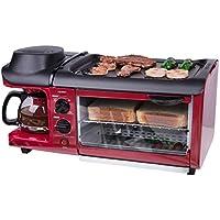 LJ-MBJ Desayuno Máquina, Multifunción Casa Breakfast Maker, Tostadoras Máquina De Café Máquina