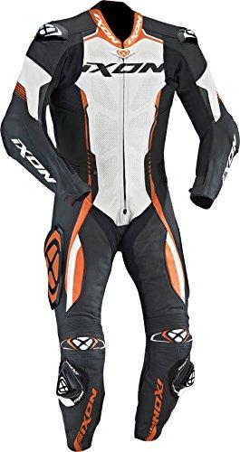 Preisvergleich Produktbild IXON VORTEX Lederkombi 1-teilig schwarz / weiss / orange XL