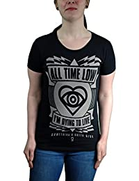 All Time Low Dying To Live Skinny Fit T-shirt