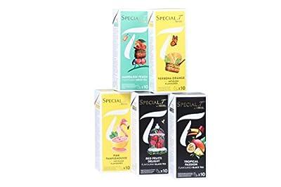 Special.T - Fruit Mix - thé aux fruits bio (5 variétés de 10 capsules)