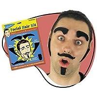 capelli kit viso - sopracciglia, basette e