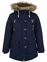Bellfield womens mountaineering parka navy