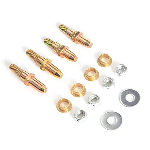 YSHtanj Türscharnierstift, Buchsen-Reparatursatz, für Auto-Innenraum-Teile, verzinkter Stahl, für Chevy GMC (Gmc Teile)