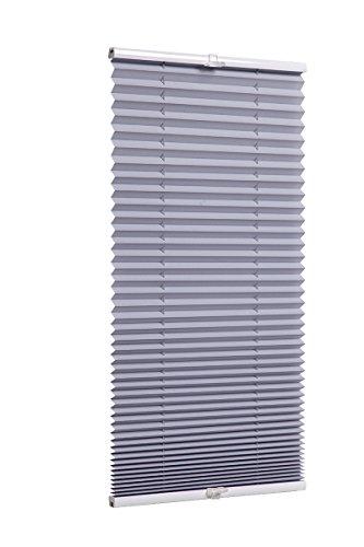 Plissee Grau TEXMAXX