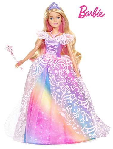 Barbie GFR45 - Dreamtopia Ballkleid Prinzessin Puppe mit blonden Haaren, Puppen Spielzeug und Puppenzubehör ab 3 Jahren