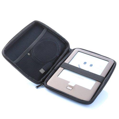 Hartschalen Tasche mit Nylon Oberfläche für 15,24cm (6 Zoll) eBook Reader schwarz