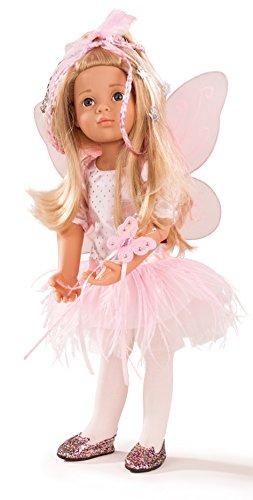 Preisvergleich Produktbild Götz 1666036 Happy Kidz Marie als Fee - Multigelenkpuppe - 50 cm große Fee'n Stehpuppe mit Zubehör, blonden Haaren und blauen Augen - 8-teiliges Set für Kinder ab 3 Jahren