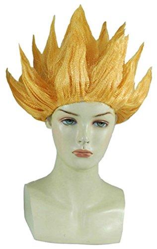 Dragon Ball Z Goku or jaune Cosplay Costume (Perücke Son Goku)