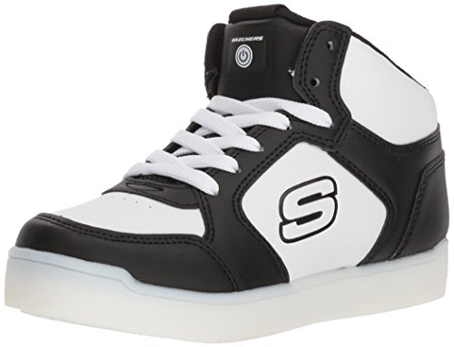 Skechers Boys Energy Lights E-Pro High Top Casual Trainers