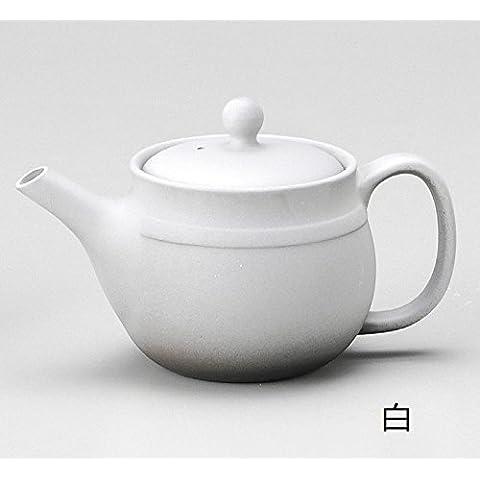 Yamakiikai Tokoname ceramica caffettiera Takayama Bianchi 320cc M183 dal