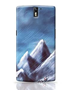 PosterGuy OnePlus One Case Cover - EVEREST Painting, Illustration,Graphic Design