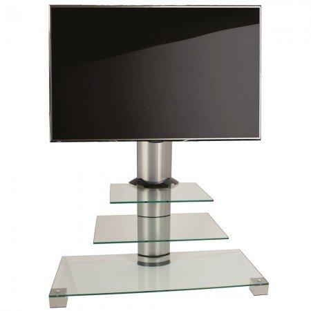 VCM Amalo Mini - Soporte vertical de TV, con ruedas, color plata...