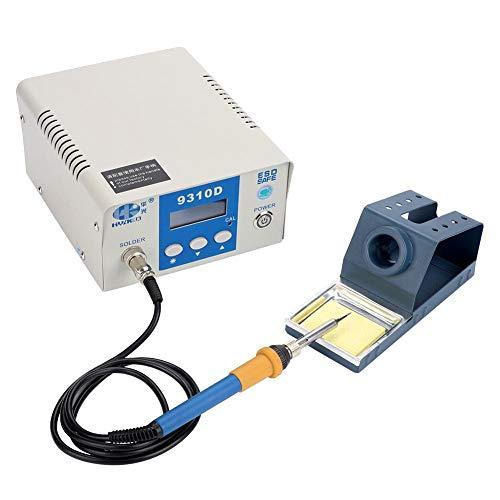 Heißluft Lötstation 70-90W,Lötstation mit digitalem LED-Display und einstellbarer Temperatur,Temperaturbarriere,Lötkolben,9310D