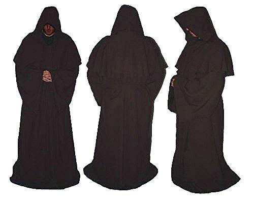 Custom Made Fancy Dress Kostüm - Deluxe Erwachsene Jedi Luke braun Master